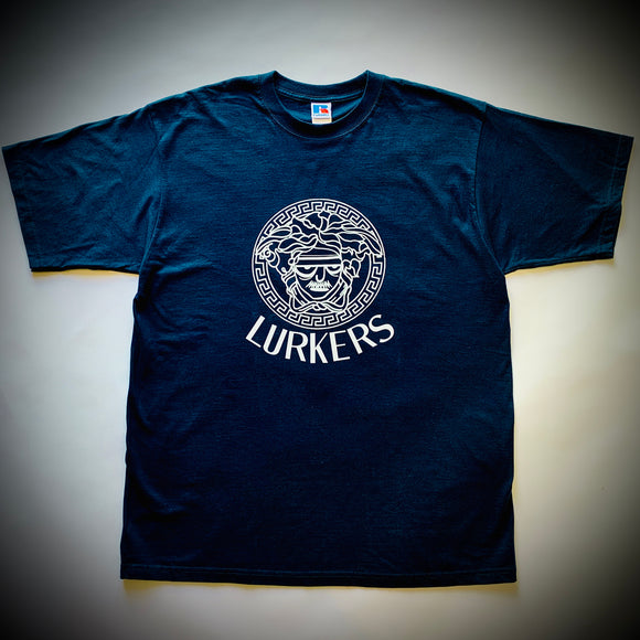 THE LURKERS: MEDUSA TEE (NAVY)