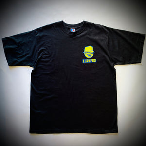 THE LURKERS: LURFAX TEE (BLACK)