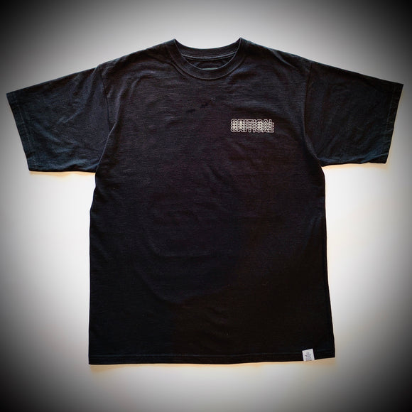 CRITICAL MUSIC: LOGO TEE (BLACK)