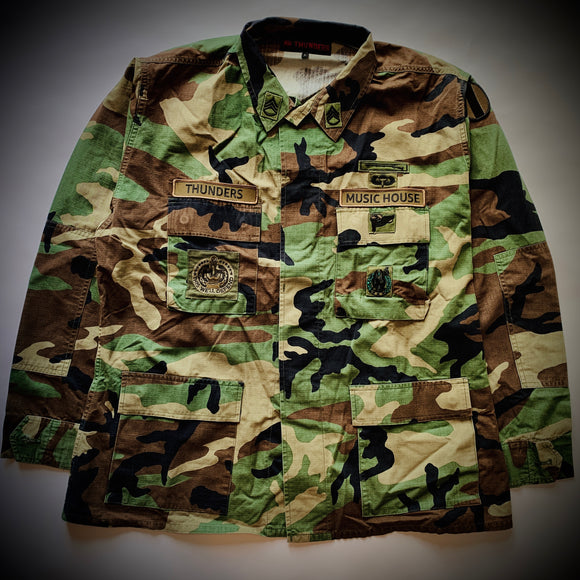 MR THUNDERS: MUSIC HOUSE M65 JACKET (CAMO)