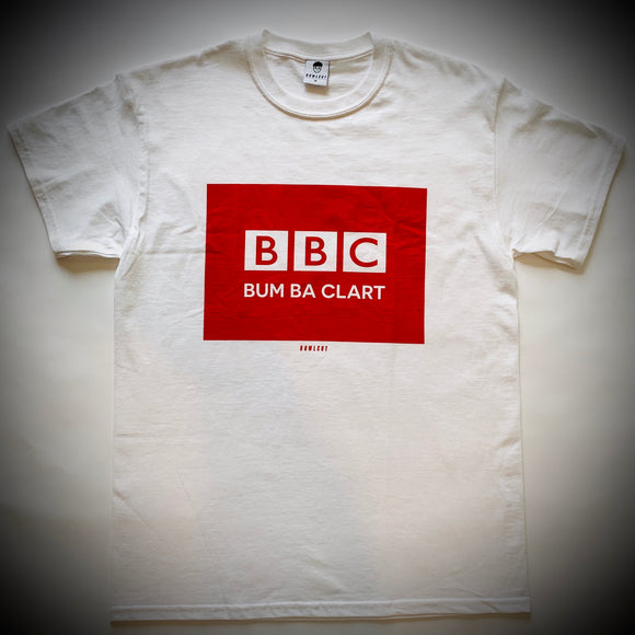 BOWLCUT GARMS: BBC TEE (WHITE)