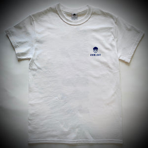 BOWLCUT GARMS: CREP GUIDE TEE (WHITE)