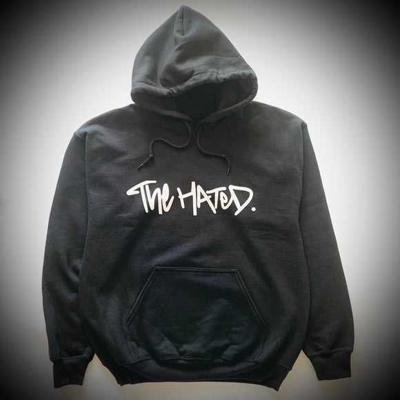 THE HATED SKATEBOARDS: BOX LOGO HOODY (BLACK)