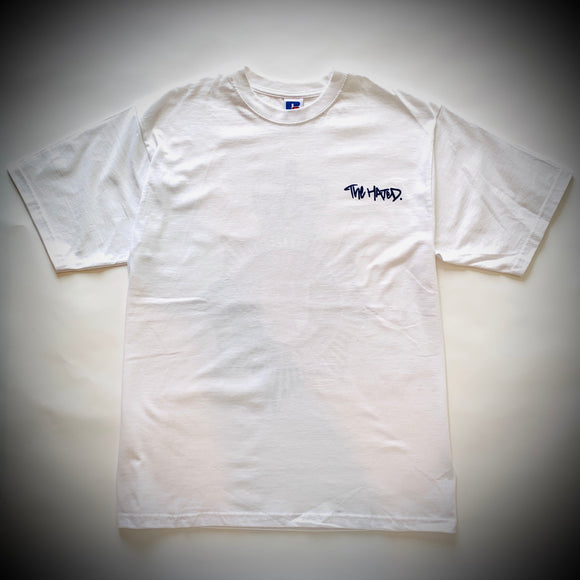 THE HATED SKATEBOARDS: BRITISH TRANSPORT POLICE TEE (WHITE)