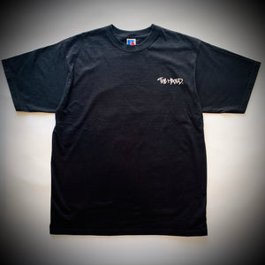 THE HATED SKATEBOARDS: PIGEON TEE (BLACK)