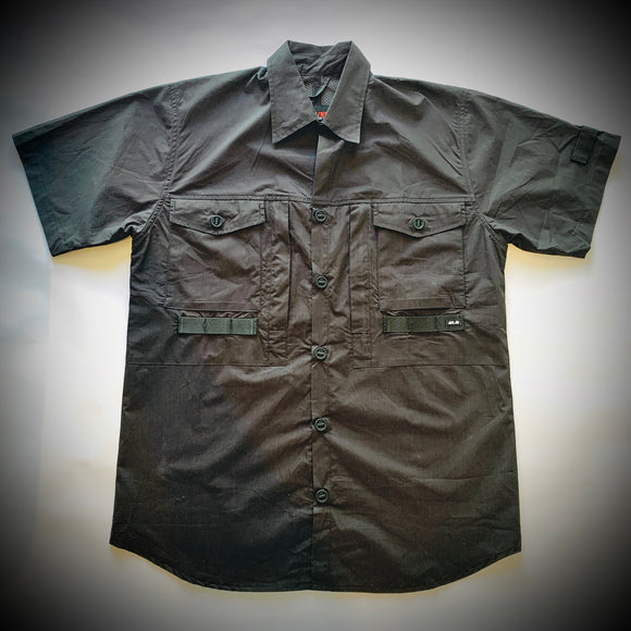 MR THUNDERS: ARK AIR MILITARY SHIRT (BLACK)