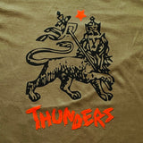 MR THUNDERS: BLESS UP TEE (OLIVE)