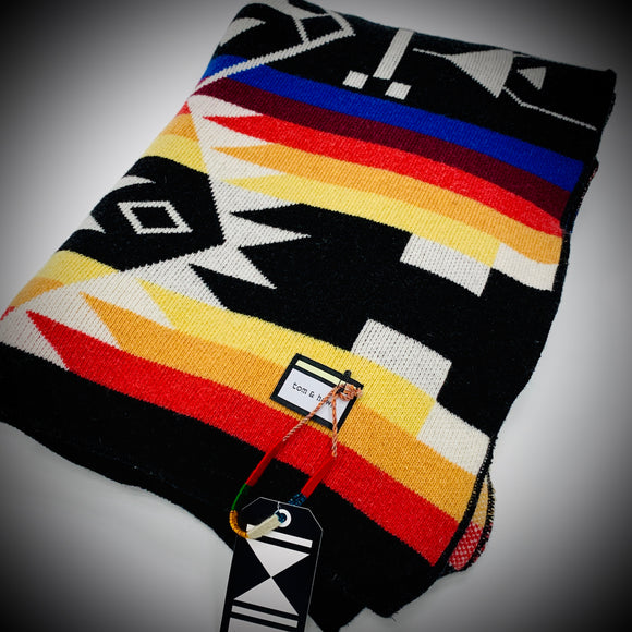 TOM & HAWK: NAVAJO BLANKET (MULTI COLOR 1)