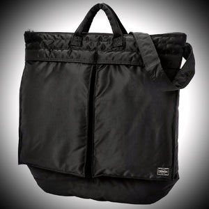 PORTER YOSHIDA & CO: HELMET BAG (BLACK)