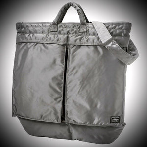 PORTER YOSHIDA & CO: HELMET BAG (SILVER)