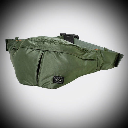 PORTER YOSHIDA & CO: WAISTBAG L (SAGE GREEN)