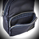 "PORTER YOSHIDA & CO: ""HOWL"" MINI DAY PACK (NAVY)"