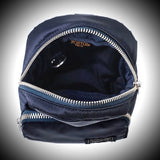 "PORTER YOSHIDA & CO: ""HOWL"" MINI DAY PACK (BLACK)"