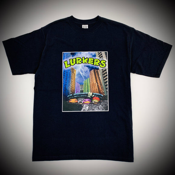 THE LURKERS: SEWER LURKER TEE (BLACK)