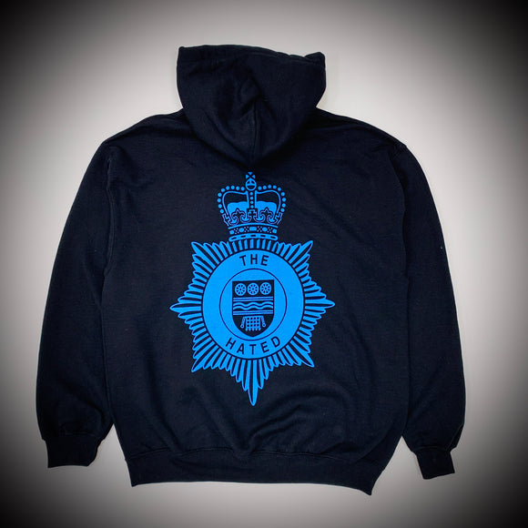 THE HATED SKATEBOARDS: BRITISH TRANSPORT POLICE HOOD (BLACK)