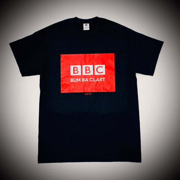 BOWLCUT GARMS: BBC TEE (BLACK)