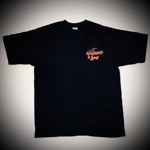 THE LURKERS: FEAR & LURKING TEE (BLACK)