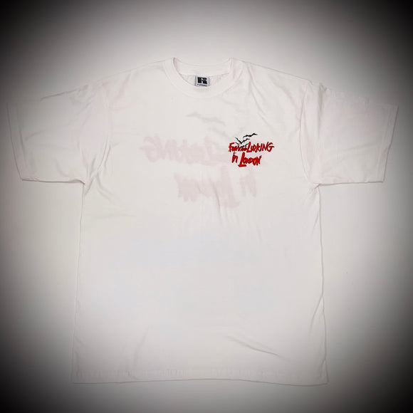 THE LURKERS: FEAR & LURKING TEE (WHITE)