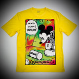 WAYWARD LONDON: OPIUM FLASHBACK TEE (YELLOW)