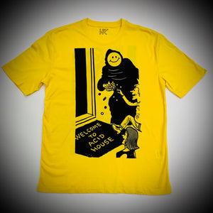 WAYWARD LONDON: WEAPER TEE (YELLOW)