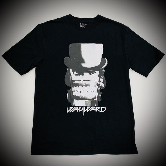 WAYWARD LONDON: CLOCKWERK TEE (BLACK)