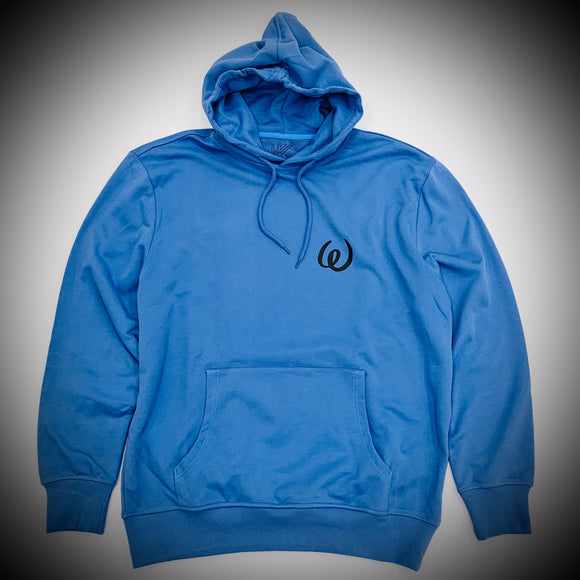 WAYWARD LONDON: OPIUM FLASHBACK HOODY (CORNFLOWER)