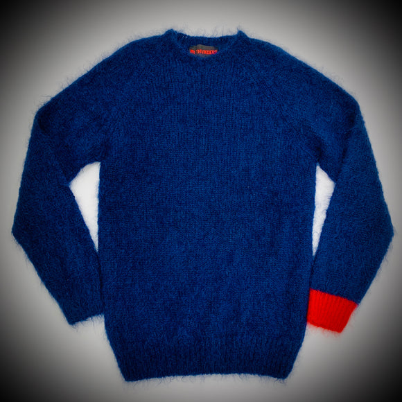 MR THUNDERS: GUIDANCE MOHAIR (NAVY)