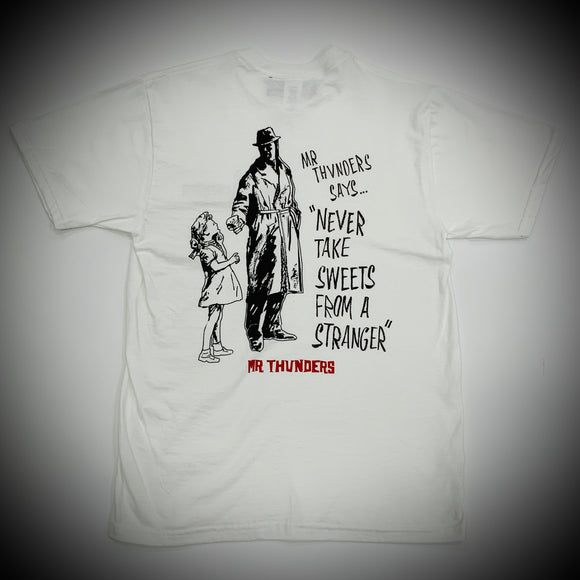 MR THUNDERS: SWEETIE MAN TEE (WHITE)