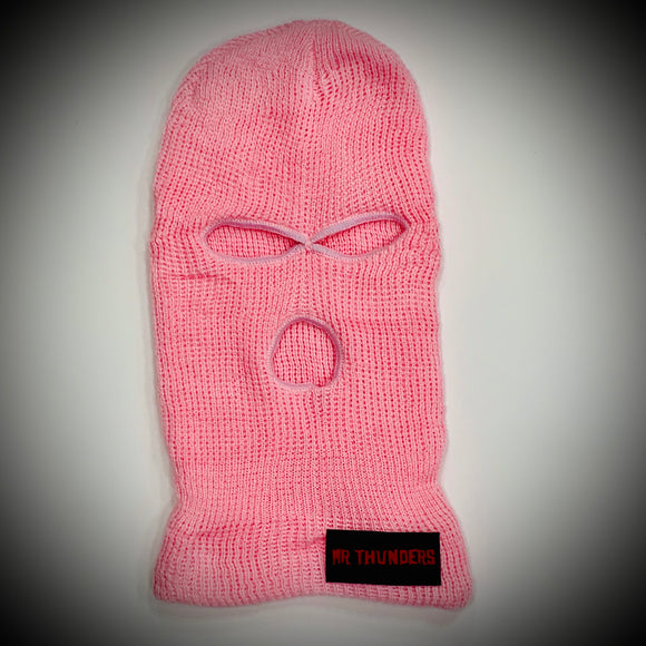 MR THUNDERS: BALACLAVA (PINK)