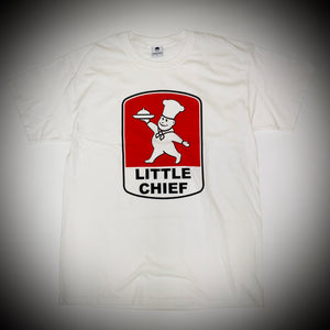 BOWLCUT GARMS: LITTLE CHIEF TEE (WHITE)