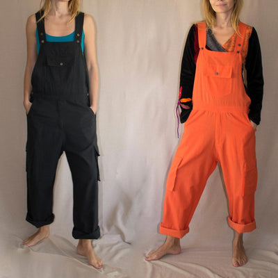 Cotton Jumpsuit , Summer Romper, dungarees - workwear - jumpsuit - Unisex