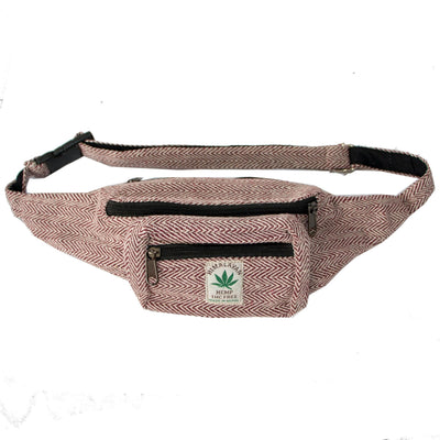 Fanny pack - Hip bag  Utility belt , Hemp Festival hipster bag , Eco pouch for Men and Women