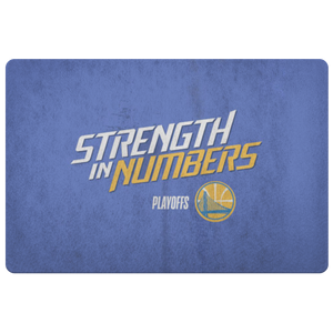 Golden State NBA Championship Doormat Steph Curry - silverageproducts.com