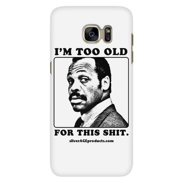 Roger Murtaugh Lethal Weapon Phone Case - iPhone & Samsung - silverageproducts.com