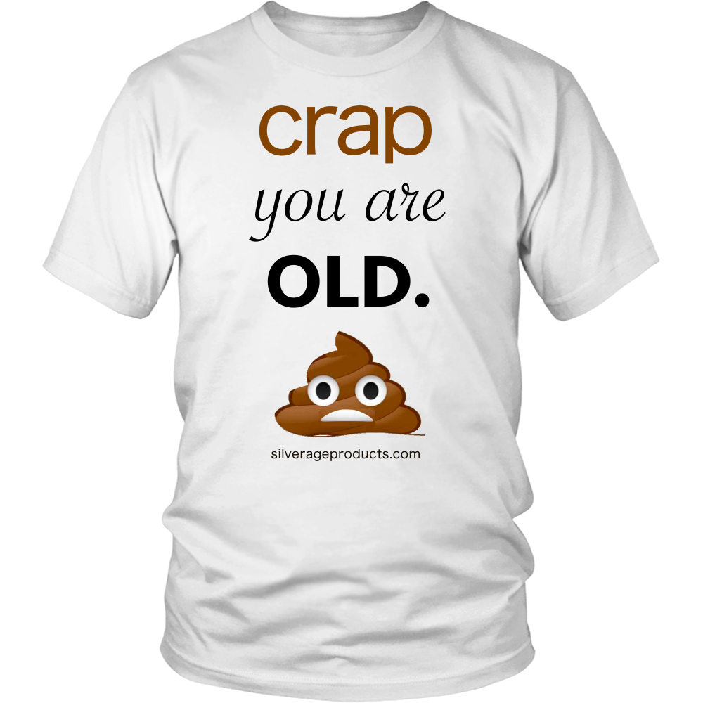 Poop Emoji Retirement Gag 50th 40th Birthday Gift idea Tshirt For Dad Turning 50 Aging Humor Crap You Are Old - silverageproducts.com