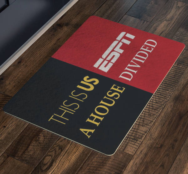 This Is Us ESPN House Divided Housemat - silverageproducts.com