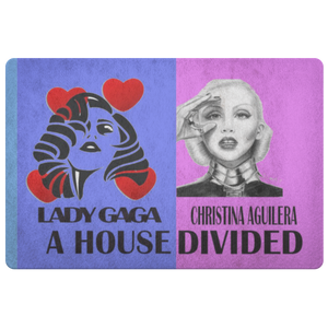 Lady Gaga Christina A Doormat - silverageproducts.com
