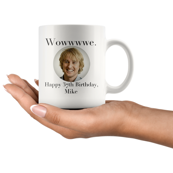 mike owen wilson coffee mug - silverageproducts.com