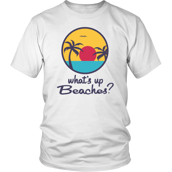 Brooklyn 99 What's Up Beaches Movie Tshirt - silverageproducts.com