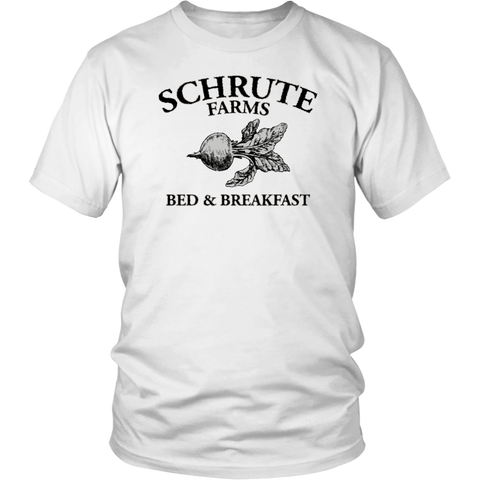 Dwight Schrute Bed & Breakfast The Office Movie Tshirt - silverageproducts.com