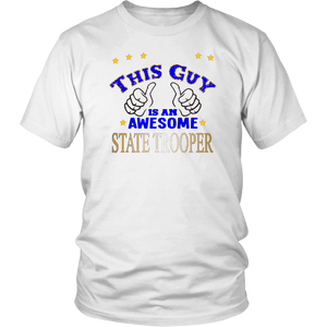 State Trooper Police Career Tshirt - silverageproducts.com