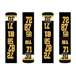 Pitts Penguins Sublimation Socks - silverageproducts.com