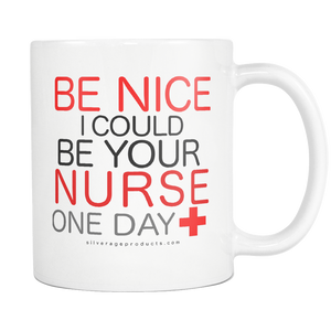 Registered Nurse Funny Coffee Mug Nurse Appreciation And Graduation Gift Idea Future Nurse Nurse School Nurses Gift Birthday Custom Mug - silverageproducts.com