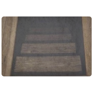 Stairs Down Illusion Unique Doormat Welcome Porch Housewarming - silverageproducts.com