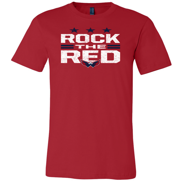 Washington Capitals Stanley Cup NHL Rock The Red Tshirt - silverageproducts.com
