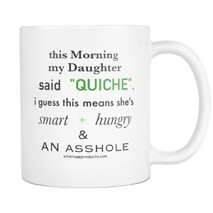 Ryan Reynolds Motherhood Fatherhood TV Quote Coffee Mug Surviving Motherhood Coffee Cup Funny Mother Daughter Sarcastic Gift Idea - silverageproducts.com