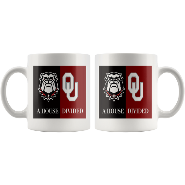 Sooners Bulldogs Mug - silverageproducts.com