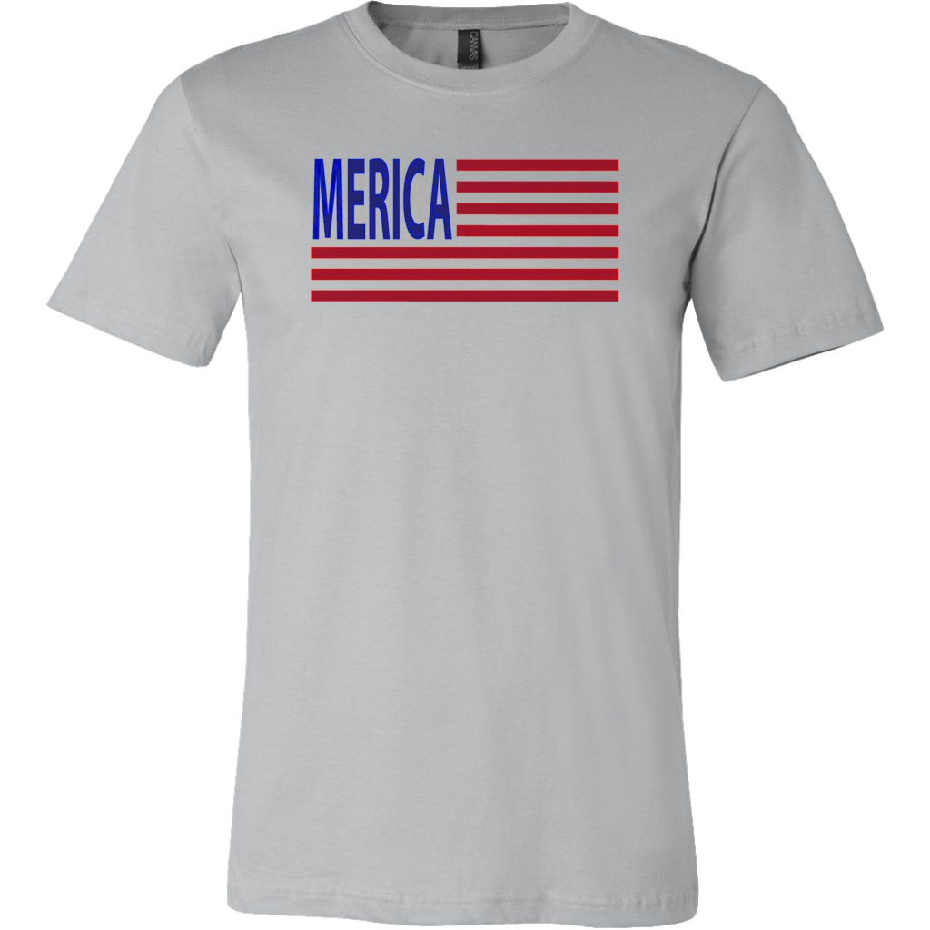 Merica Flag Patriotic TShirt July Fourth 4th Of July - silverageproducts.com