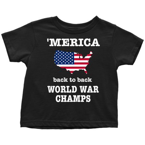 Merica Rooster The Ranch Netflix Toddler Tshirt - silverageproducts.com