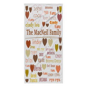 family towel custom - silverageproducts.com